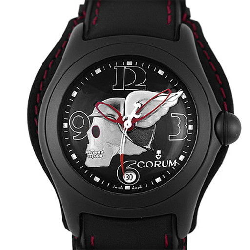 "Image of ""Corum Bubble Night Flyer 82.150.20 PVD Coated Stainless Steel &"""