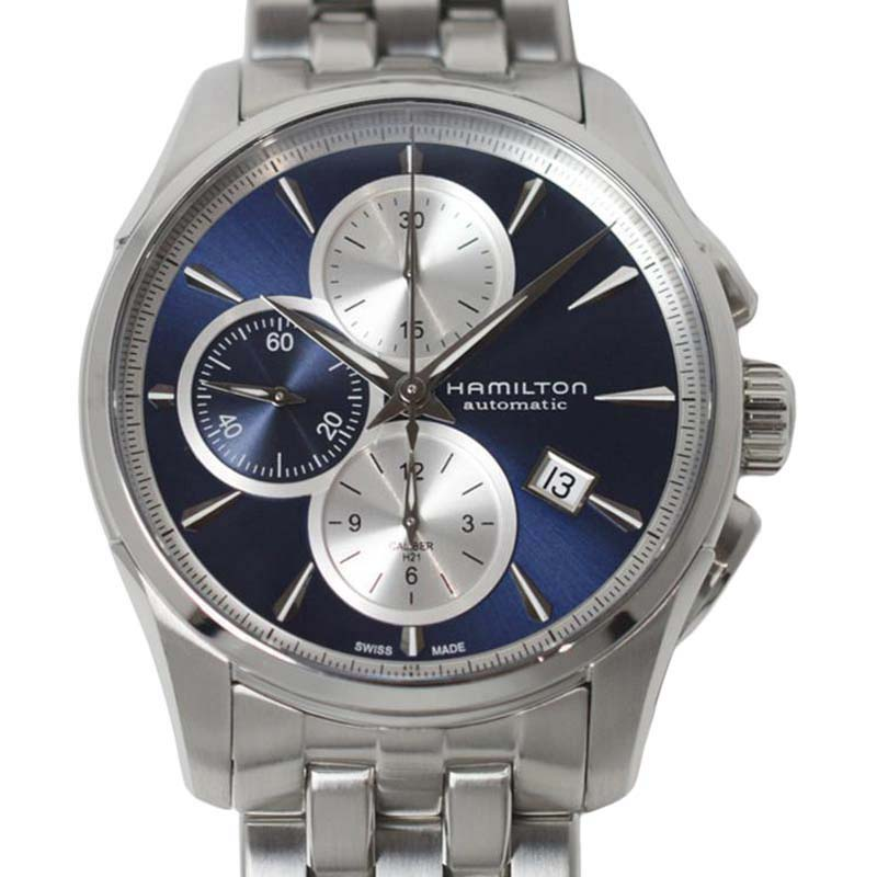 """Image of """"Hamilton Jazz Master H326160 Stainless Steel 42mm Mens Watch"""""""