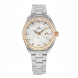 Omega Seamaster Aqua Terra 231.25.34.20.55.003 Diamonds & Stainless Steel Automatic 33mm Women's Watch