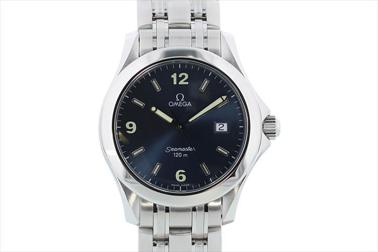 """Image of """"Omega Seamaster 2511.83 Stainless Steel with Blue Dial Quartz 36mm"""""""
