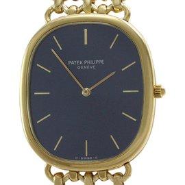 Patek Philippe Ellipse 3738/6 18K Yellow Gold Automatic 31mm Mens Watch