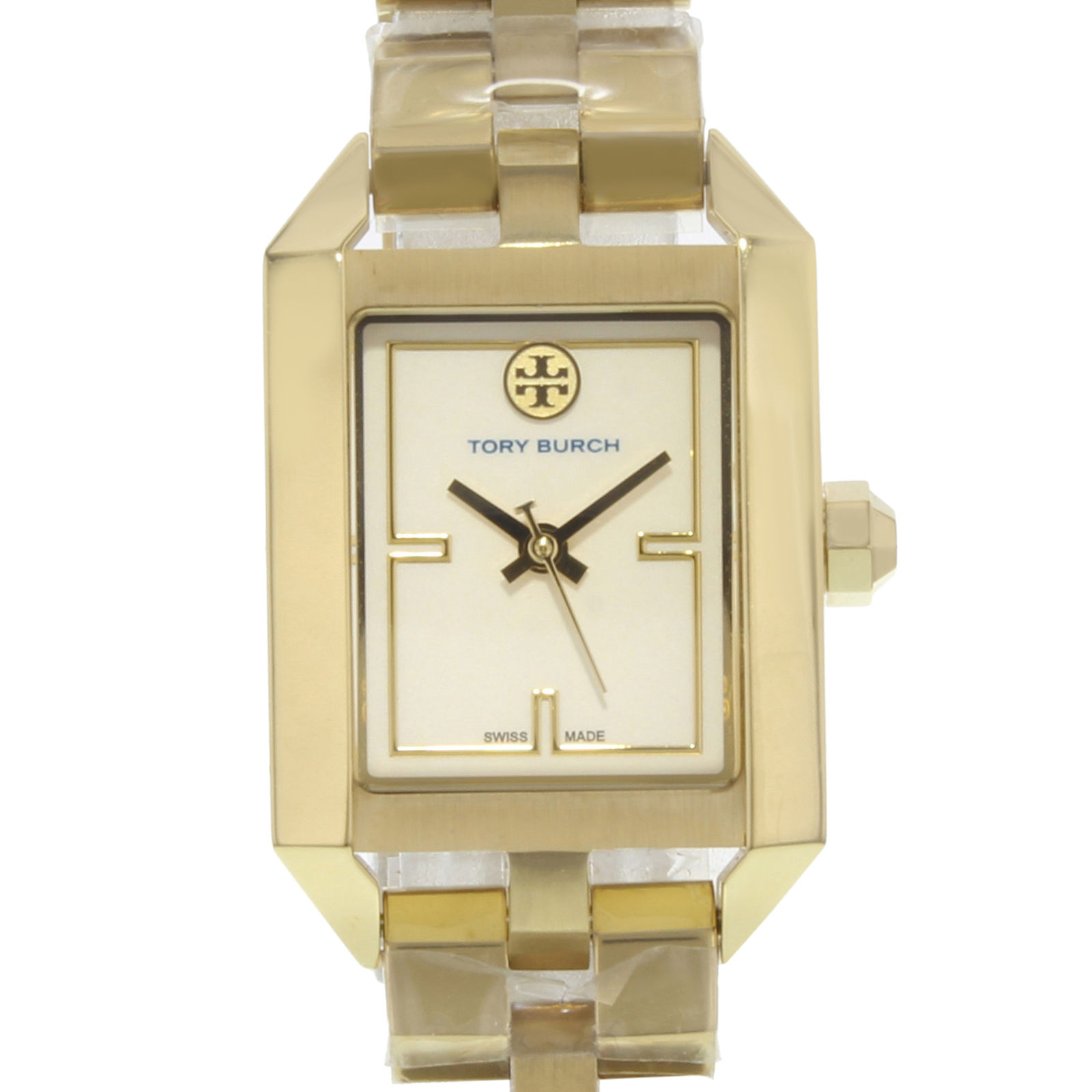 "Image of ""Tory Burch Dalloway Trb1100 Stainless Steel Quartz 23mm Womens Watch"""