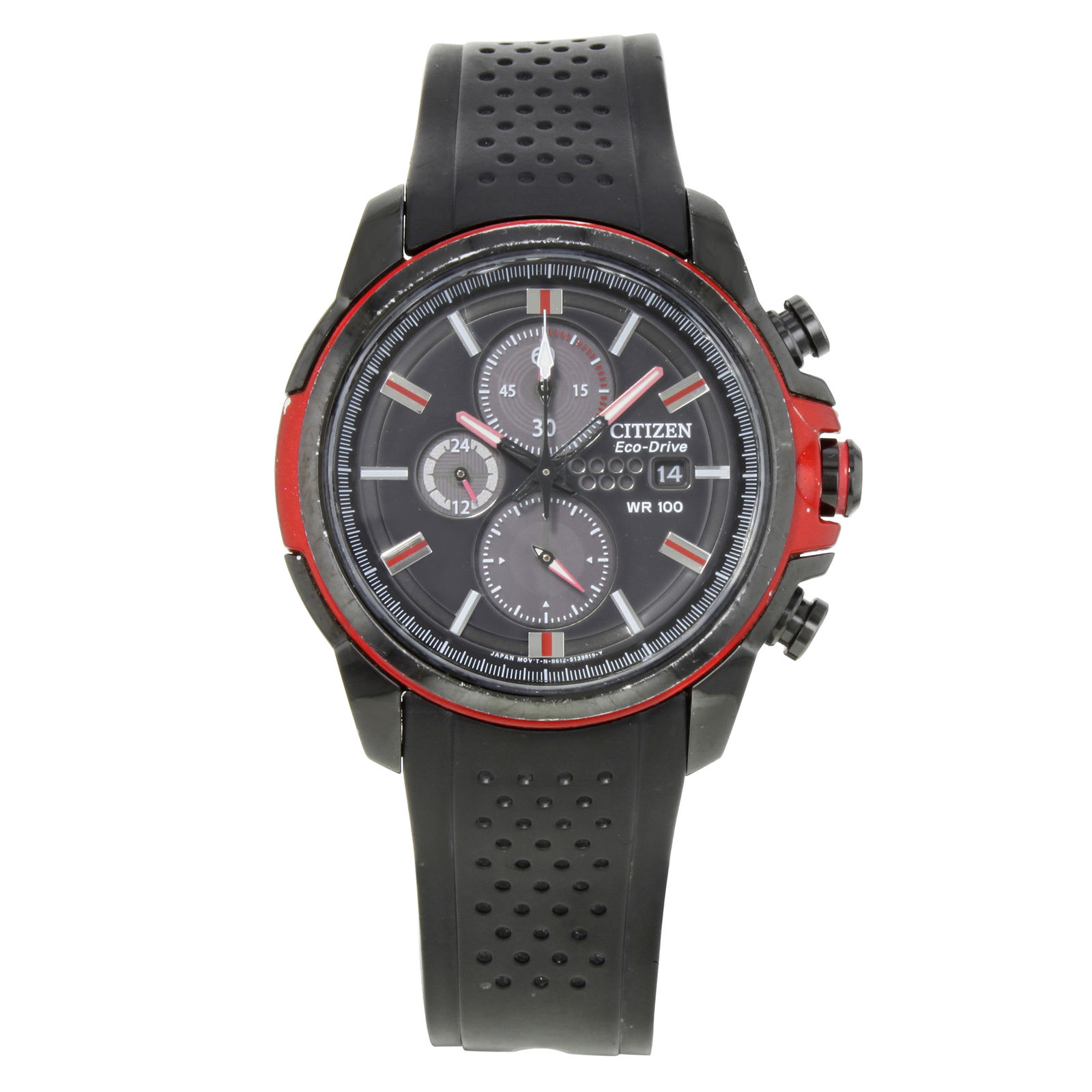"Image of ""Citizen Eco-Drive Ca0425-03E Ion Plated Stainless Steel / Rubber"""
