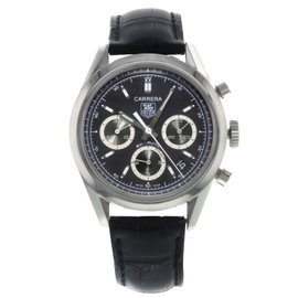 Tag Heuer Carrera CV2113.FC6180 Stainless Steel Automatic 39mm Mens Watch