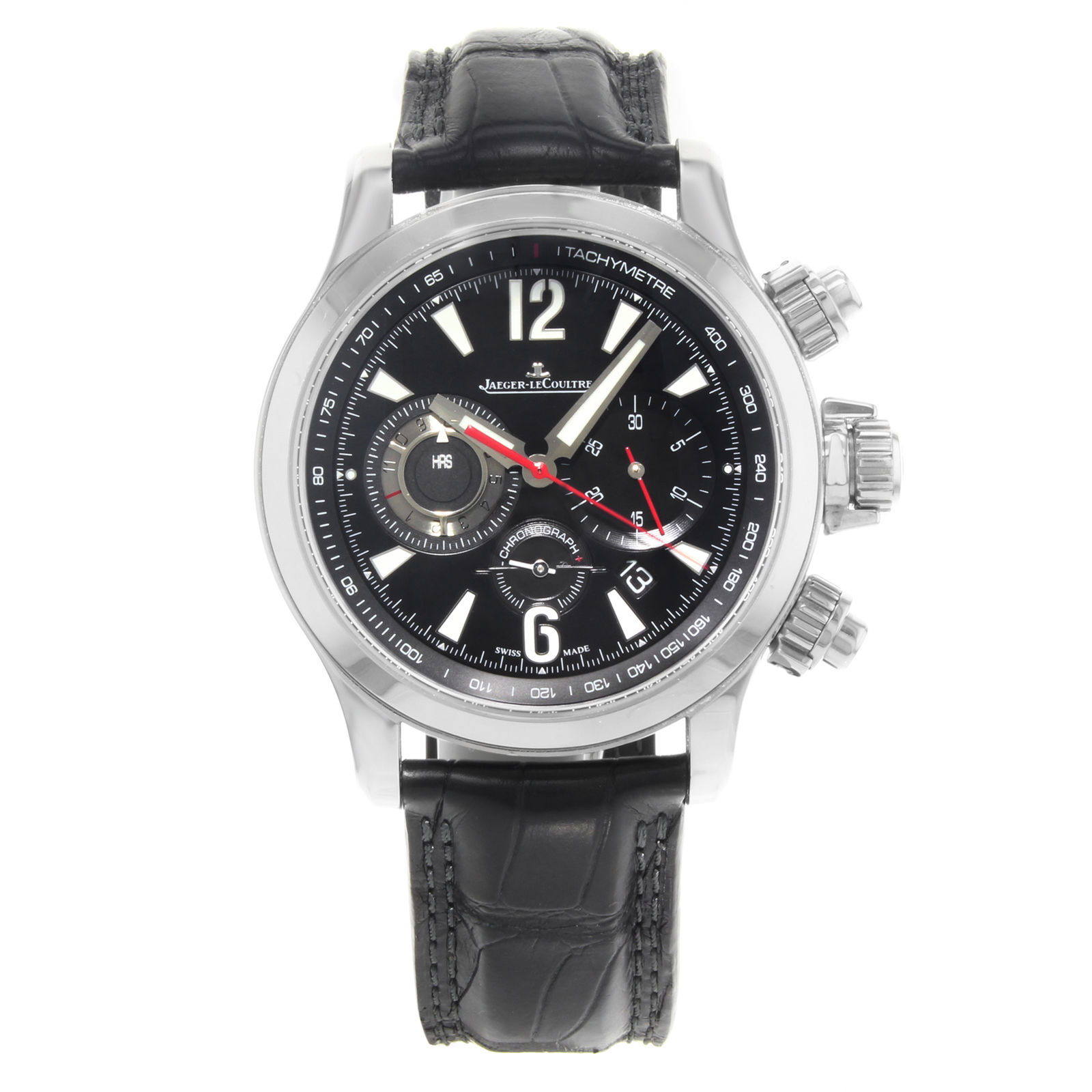 """Image of """"Jaeger LeCoultre Master Compressor Q1758421 Stainless Steel / Leather"""""""