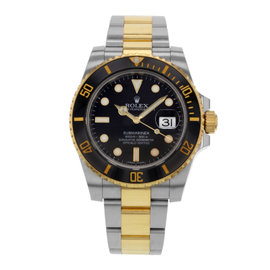 Rolex Submariner 116613LN Stainless Steel, Ceramic & 18K Yellow Gold Automatic 40mm Mens Watch