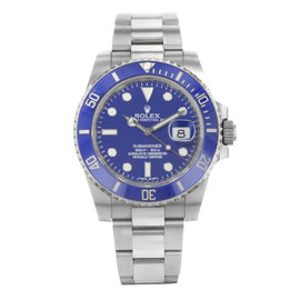 Rolex Submariner 116619 18K White Gold Automatic 40mm Mens Watch