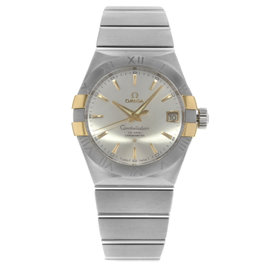 Omega Constellation 123.20.38.21.02.005 Stainless Steel Automatic 38mm Mens Watch