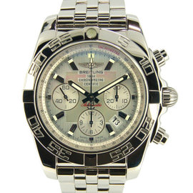 Breitling Chronomat A011G85PA Stainless Steel Automatic 44mm Mens Watch