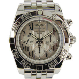 Breitling Chronomat A011A91PA Stainless Steel White Dial Automatic 43.5mm Mens Watch