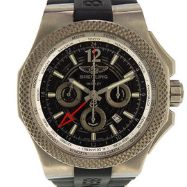 Breitling Bentley EB 0432 Titanium & Rubber Automatic 49mm Mens Watch