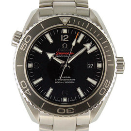 Omega Seamaster 232.30.46.21.01.001 Stainless Steel Black Dial Automatic 45.5mm Mens Watch