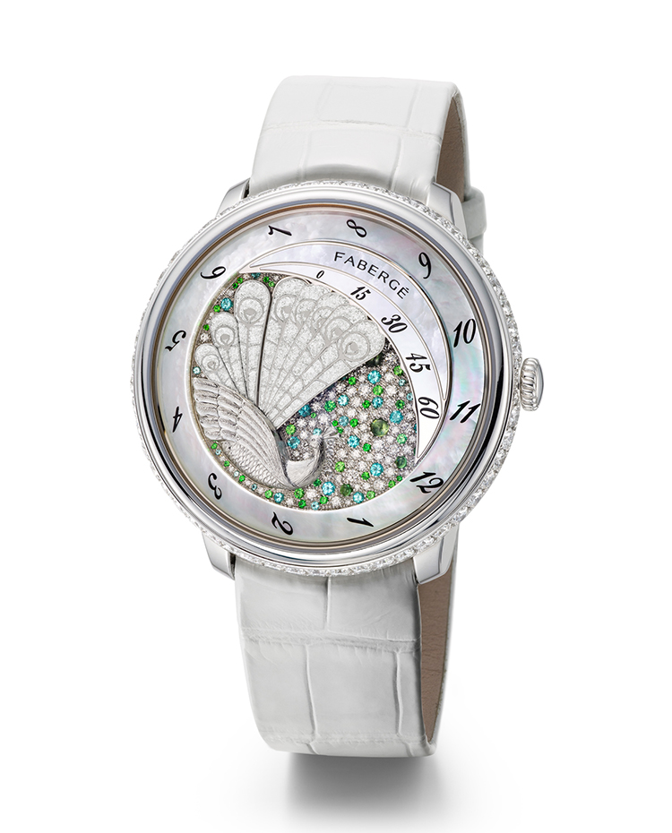 "Image of ""Lady Compliquée Peacock Watch"""