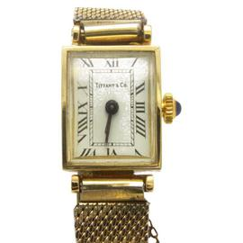 Vintage Tiffany & Co. Kesten Made 14K Yellow Gold Watch
