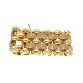 18K Yellow & Rose Gold Bracelet