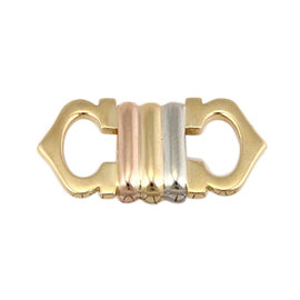 Cartier 18K Tricolor Gold Trinity Designer Pendant