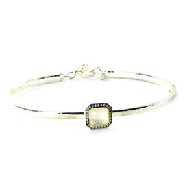 Ippolita Stella Toglette 0.11cts Diamond Quartz Bracelet