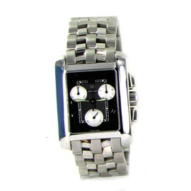 Concord 0309071 New Sportivo Chronograph Black Dial Steel Quartz Men Watch