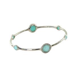 Ippolita Rock Candy 5 Stone Bracelet Diamond Turquoise