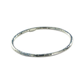 Ippolita Glamazon Sterling Silver Hammered Bangle Bracelet