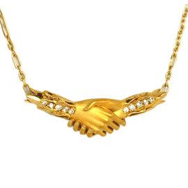 Carrera Y Carrera 18K Yellow Gold & Diamond Pendant Necklace