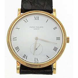 Patek Philippe 3919 Calatrava 18K Yellow Gold 33mm Watch