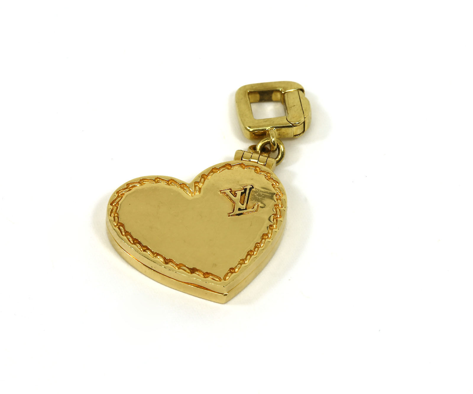 "Image of ""Louis Vuitton 18k Gold & Pink Quartz Charm Bracelet"""