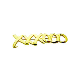 Tiffany & Co 18K Yellow Gold Paloma Picasso XOXO Large Brooch