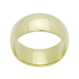 Tiffany & Co. 14K Yellow Gold Wide Band Wedding Ring