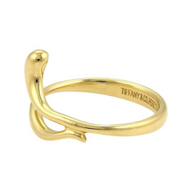 Tiffany & Co. Elsa Peretti 18K Yellow Gold Snake Ring