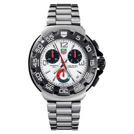 Tag Heuer CAC 1111-BA0850 Formula 1 White Dial Chronograph Watch