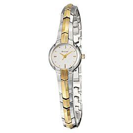 Bulova 98T73 Mother of Pearl Bracelet Womens Watch