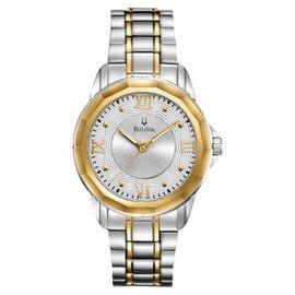 Bulova 98L166 Dress Round Bracelet Womens Watch