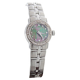 Raymond Weil 9641-STS-97281 Parsifal Stainless Steel Mother of Pearl and Diamond Accented Quartz 22mm Watch