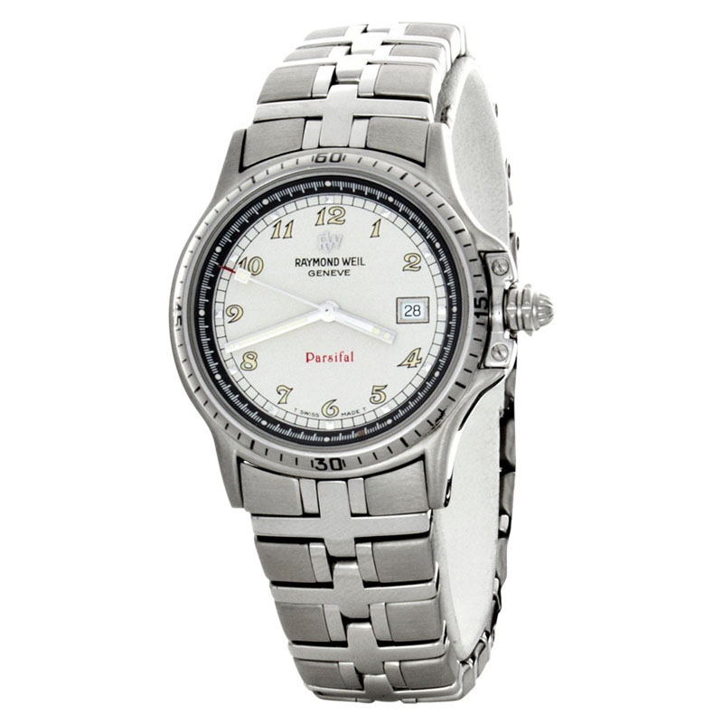 "Image of ""Raymond Weil 00991/wa Parsifal Stainless Steel Bracelet Quartz Watch"""