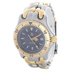 Tag Heuer Gray Dial 200 Meter Water Resistant Two-Tone SEL Quartz Watch