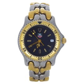 Tag Heuer S 95.206 M 200M Two-Tone Grey Dial Swiss Quartz Watch