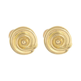 Tiffany & Co. 18K Yellow Gold Round Earrings