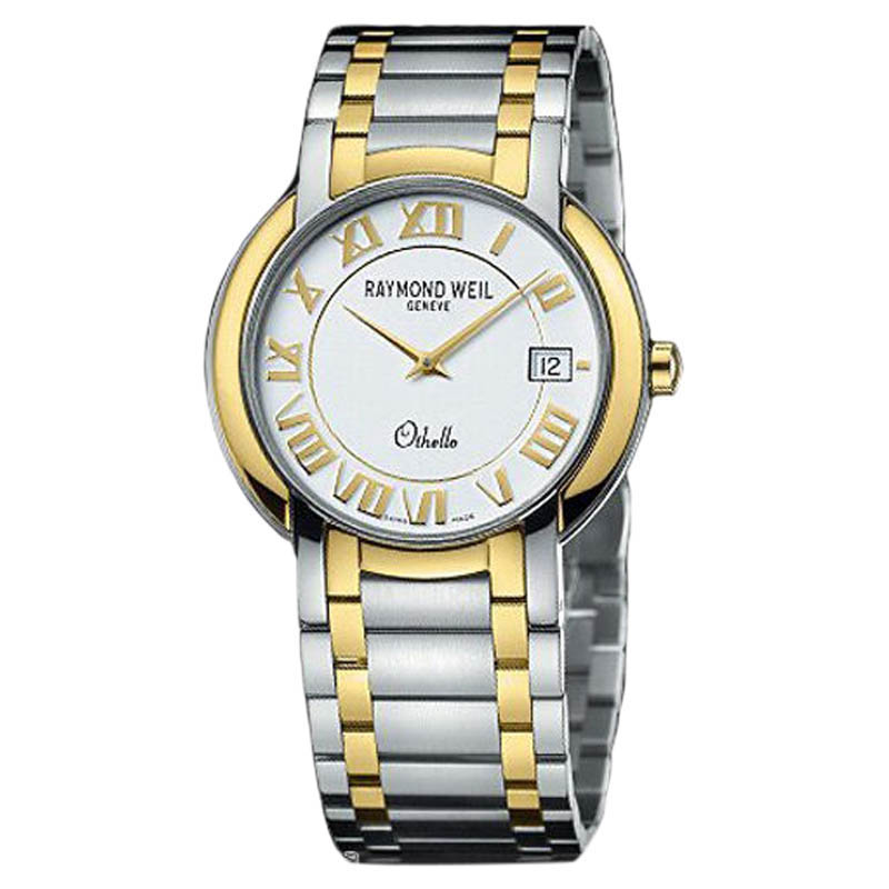 "Image of ""Raymond Weil 2310-Stg-00308 Othello Two-Tone Stainless Steel Watch"""