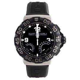 Tag Heuer CAH7010.FT6026 Calibre S Formula 1 Rubber Strap Chronograph Mens Watch