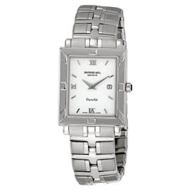 Raymond Weil 9331-ST-00307 Parsifal White Dial Mens Watch