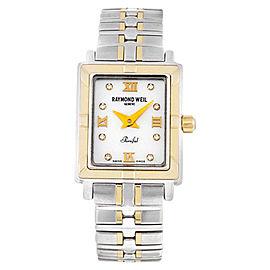 Raymond Weil 9630-STG-00995 Parsifal Diamond Two Tone Swiss Watch