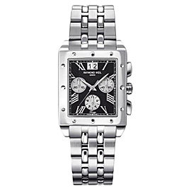 Raymond Weil 4881-ST-00209 Tango Black Chronograph Dial Mens Watch