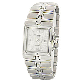 Raymond Weil Parsifal Silver Dial Stainless Steel Bracelet Quartz Mens Watch
