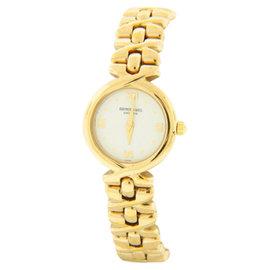 Raymond Weil Elegant White Dial Gold-Tone Steel Bracelet Quartz Womens Watch
