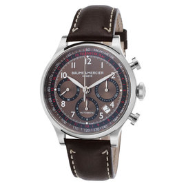 Baume & Mercier Capeland MOA10002 Brown Analog Display Automatic Men's Watch