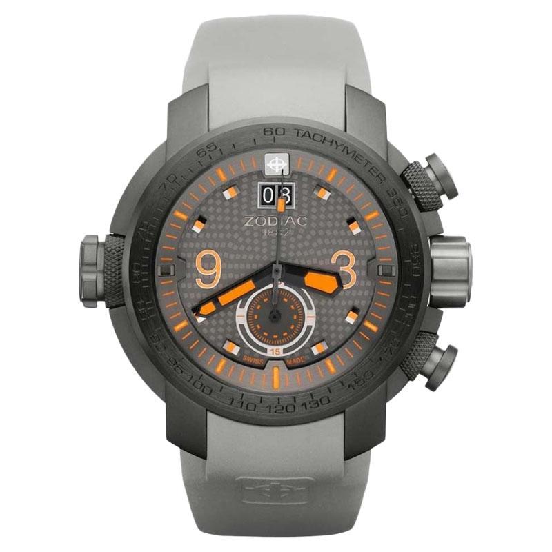 """Image of """"Zodiac ZMX Zo8544 Analog Display Swiss Quartz Grey Mens Watch"""""""