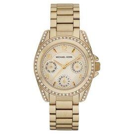 Michael Kors MK5639 Golden Multi-Function Blair Gold Tone Analog Watch