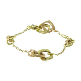Chimento 18K Yellow & Rose Gold Avantgarde Bracelet Diamond