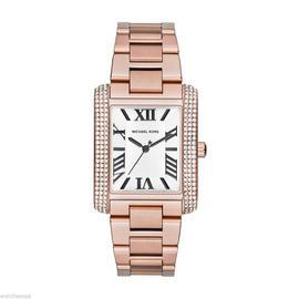 Michael Kors MK3255 Rose Gold-tone Stainless Steel Emery Bracelet Womens Watch